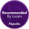 Alignable Badge: Recommended By Locals