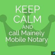 Mainely Mobile Notary - Waterboro Area - Alignable