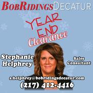 Bob Ridings Decatur Il >> Stephanie Helphrey At Bob Ridings In Decatur Alignable