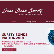 Jane Bond Surety - Merced, CA - Alignable
