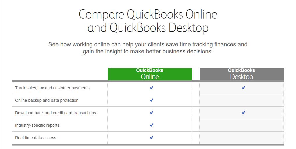 Do You Prefer Quick Books Desktop or Quick Books Online?