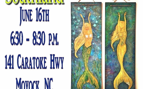 Painting Mermaids Mith by Modern Art: Sip and Start in Virginia