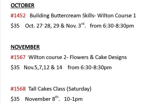 Cake Decorating Classes By Fiesta Baking Supplies In Houston Tx