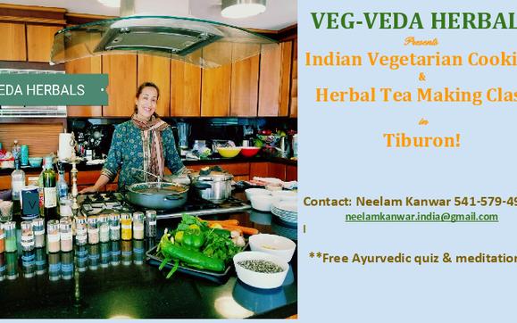 Healing Herbal Tea Making & Traditional Indian Vegetarian