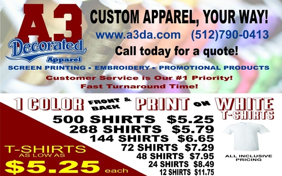 4eefbb2d We also offer custom mixed media designs including: applique, rhinestone  and heat transfer vinyl. Let us fulfill your commercial, spiritwear and  custom ...