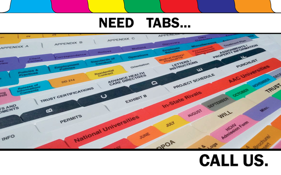 Tabs? by Braintree Printing in Braintree, MA - Alignable
