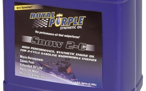 Royal Purple Snow 2-Cycle TCW III Engine Oil, 1 Gallon (each) by