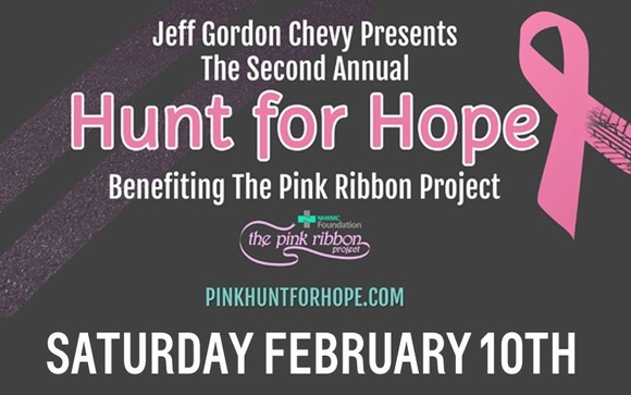 Jeff Gordon Chevy Presents The 2nd Annual Hunt For Hope By
