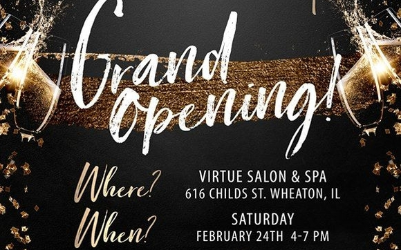a70795a0806 Please come welcome your new neighborhood full service beauty salon in  downtown Wheaton! We will have many discounts for booking that night, ...