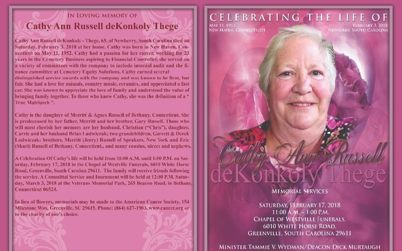 Custom Obituaries by Celebrating the life of (CTLO) in