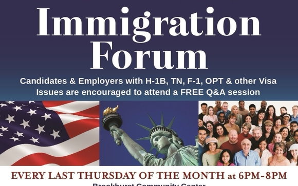 IMMIGRATION FORUM by CivicMinds Recruitment in Stanton Area
