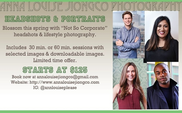 Headshot and Portraits March Madness Promo! by Anna Louise