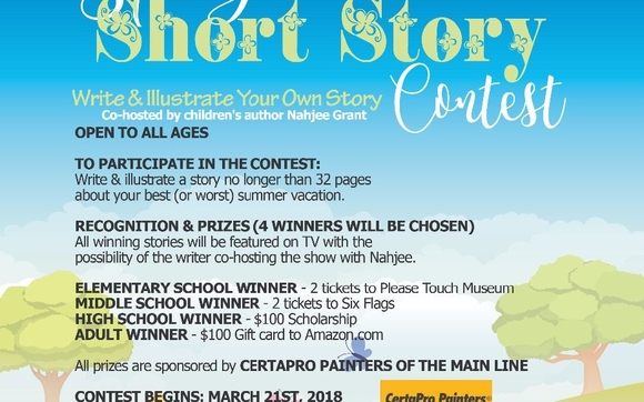 Short Story Contest (all ages) by All Children Equal Success LLC in