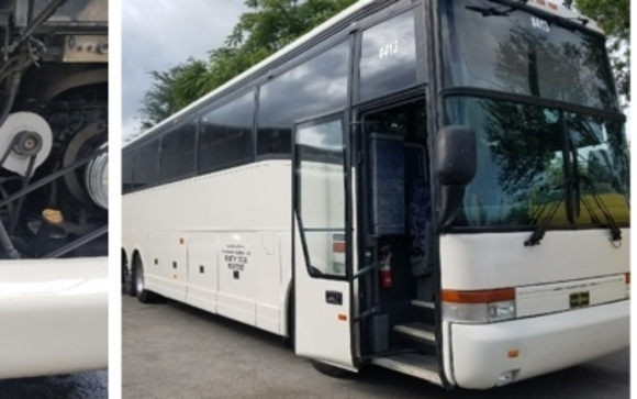 2001 VANHOOL T-2145 by Payne Bus Sales, LLC in Clermont, FL