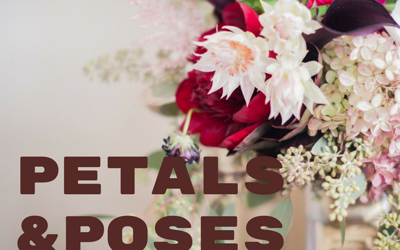 Petals And Poses Celebraton Of Earth Day With Yoga Beauty And