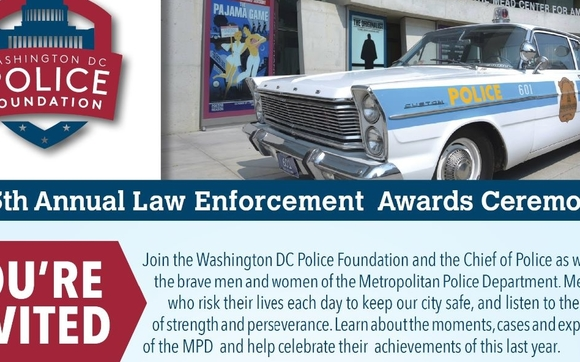 Annual Law Enforcement Awards by Washington DC Police