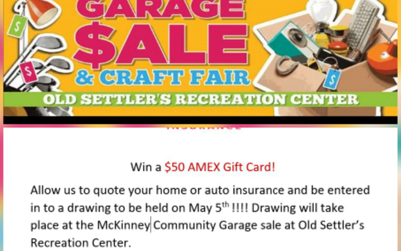 Community Garage Sale By Renee Thomas Brightway Agent In Plano Tx