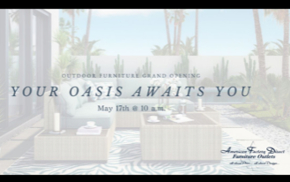 1525727562 Pic 1 Our Covington Showroom Will Be Exclusively Offering New Outdoor Patio Furniture