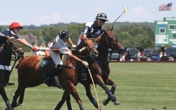 Invitation to Polo Tournament for Charity by Leah Bradshaw
