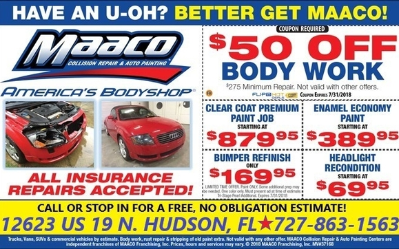 Paint Jobs Starting At $299! By Maaco Collision Repair