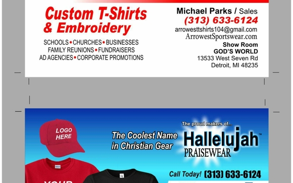 206eb12e5 Custom T-Shirts and Embroidery by Arrowest Custom T-Shirts ...
