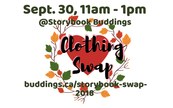 Kids Clothing Swap by Buddings Daycare in Vancouver, BC