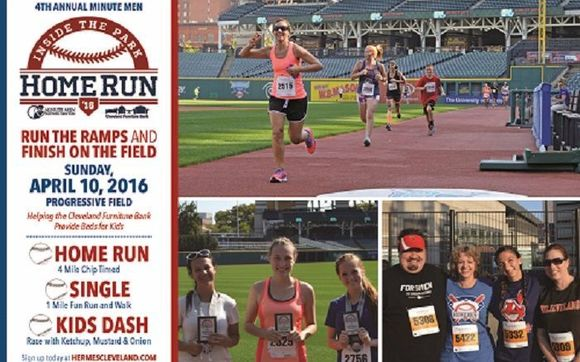Inside The Park Home Run 5k By Cleveland Furniture Bank In Cleveland
