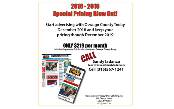 Oswego County Today >> Blow Out Sale By Oswego County Today In Fulton Area Alignable