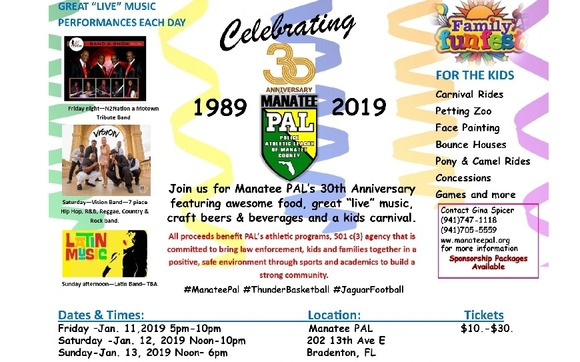 Pal S 30th Anniversary Celebration By Police Athletic League Of