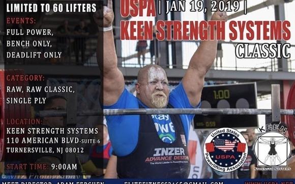 USPA Powerlifting Meet by Keen Strength Systems in Blackwood