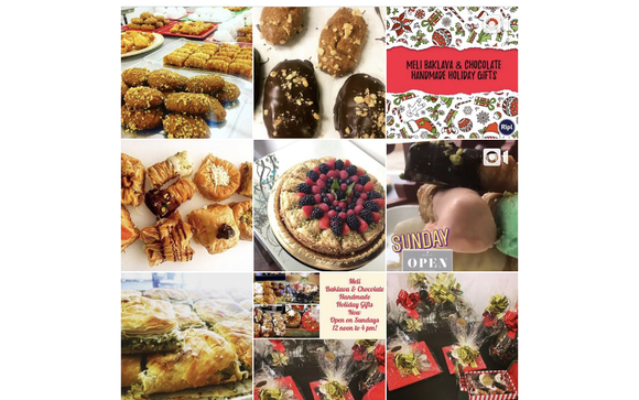Holiday Gift Baskets & Party Platters by Meli Baklava & Chocolate
