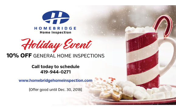 10% Off General Home Inspections! by Homebridge Home