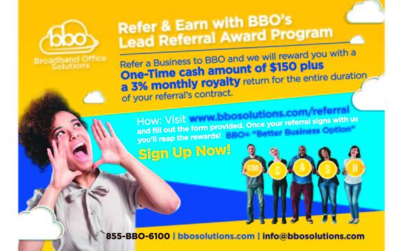 BBO Referral Program by Broadband Office Solutions (855-BBO-6100) in