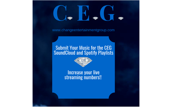 Live Streaming Playlists by Change Entertainment Group (CEG