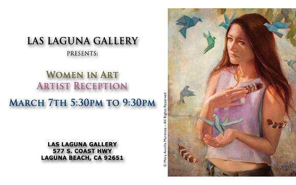 Women in Art: Group Exhibition by Las Laguna Gallery in Laguna Beach