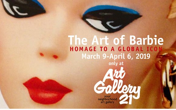 . THE ART OF BARBIE  HOMAGE TO A GLOBAL ICON by ART GALLERY 21 in