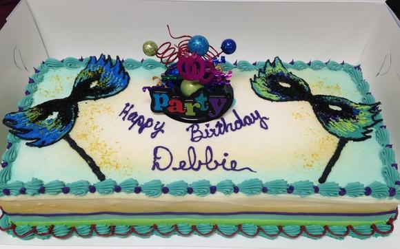 Mardi Gras Birthday Cake By Baskin Robbins In Richmond VA