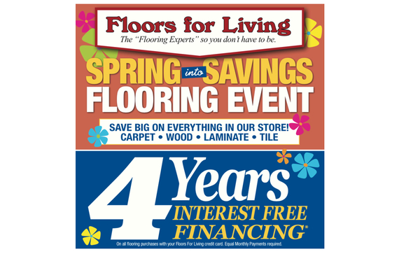 4 Years Interest Free Financing Spring Into Savings