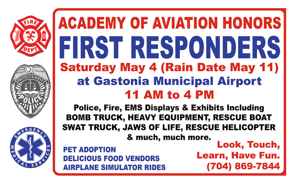 First Responders Appreciation Day by Academy of Aviation in Gastonia