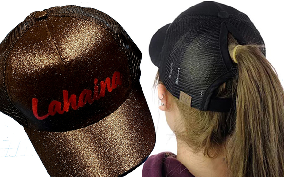 6332d1051 Fashion CC Hats with a Lot of Glitters by Shirts Maui - Full Color ...