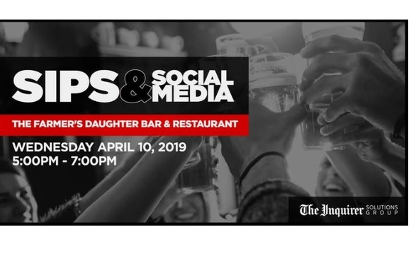 Sips & Social Media Happy Hour by The Philadelphia Inquirer