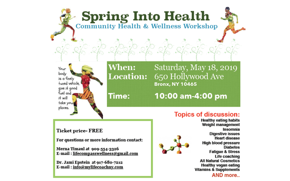Spring Into Health Community Workshop by Lifecompass Health
