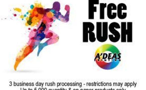 Free Rush On Printing By Adeas Printing In Wichita Ks Alignable