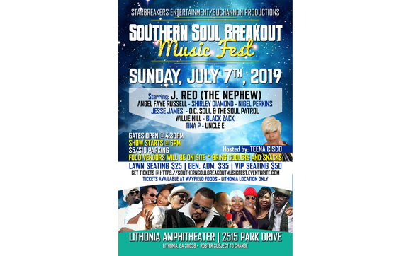 Southern Soul Breakout Music Fest by WIGO 1570 in Ellenwood