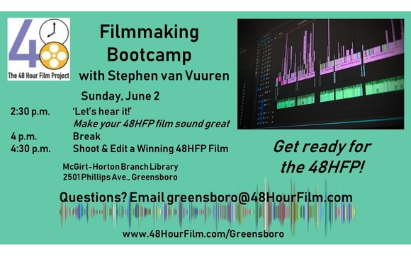 Filmmaking Bootcamp by 48 Hour Film Project in Stokesdale