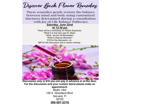 Discover Bach Flower Essences by Life Balance Pathways in