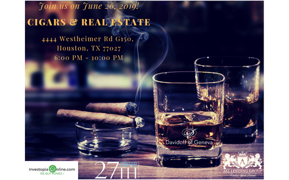 Cigars and Real Estate Networking Event by Axe Lending Group in