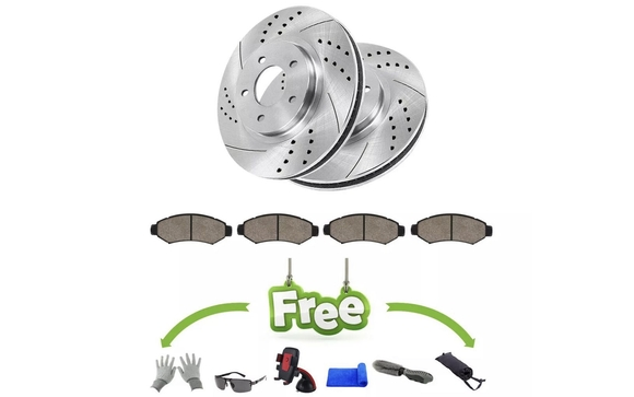 Brake Pads And Rotors Prices >> Holiday Sale Performance Drilled And Slotted Rotors With Premium