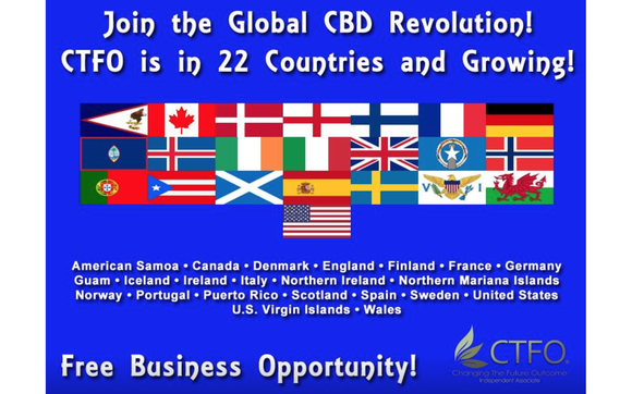 Take Advantage of the Global CBD Revolution by CTFO and CBD