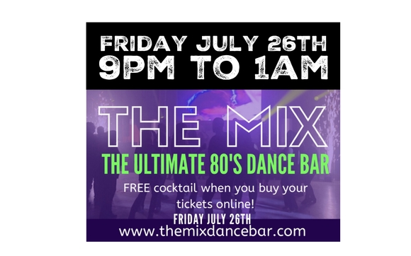 The mix retro 80's & 90's dance club by Momentum Music disc